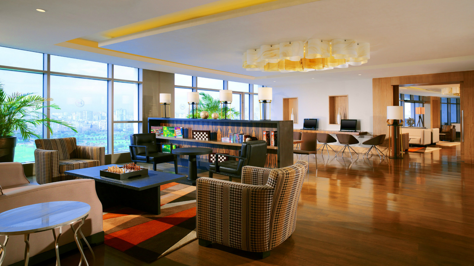 Club Lounge Social Area
